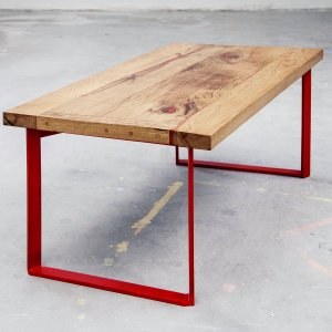 coffee table // red